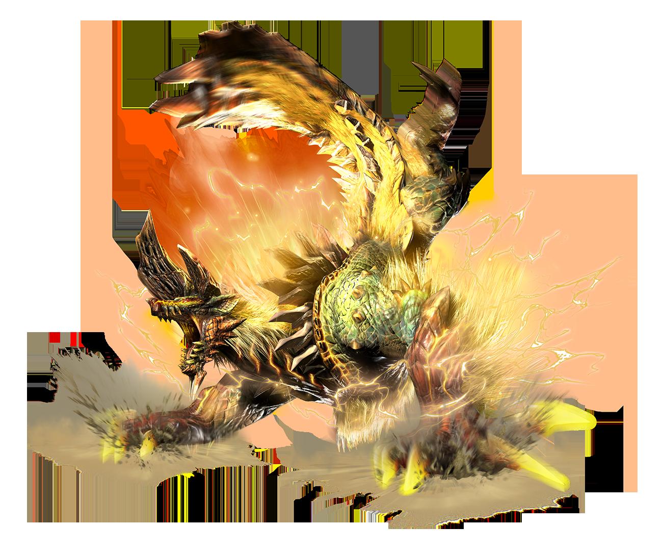MHGen_Art_(Deviant)_Thunderlord_Zinogre