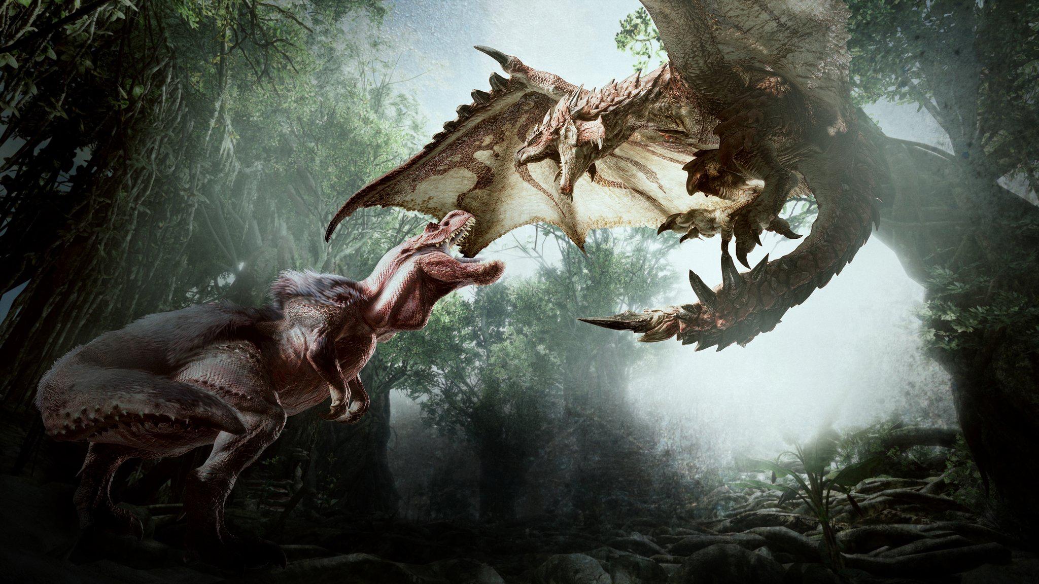 Monster Hunter World Annonc Sur Playstation 4 Xbox One Et Pc